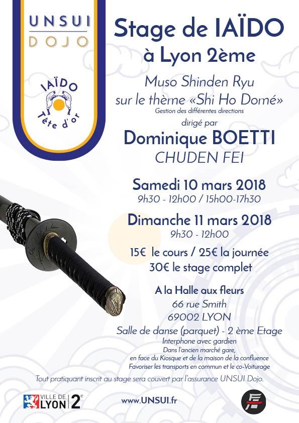 Stage IAIDO-LYON-BOETTI-2018