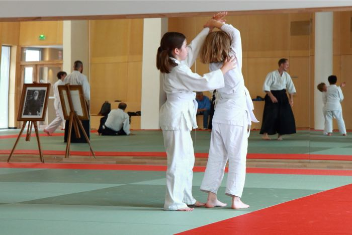 Cours aïkido enfant