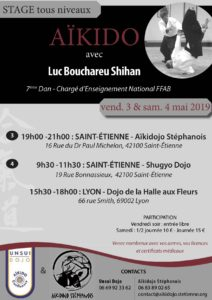 Luc Bouchareu à Lyon