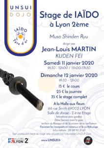 Stage IAIDO LYON 2020